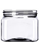Square Plastic Jars